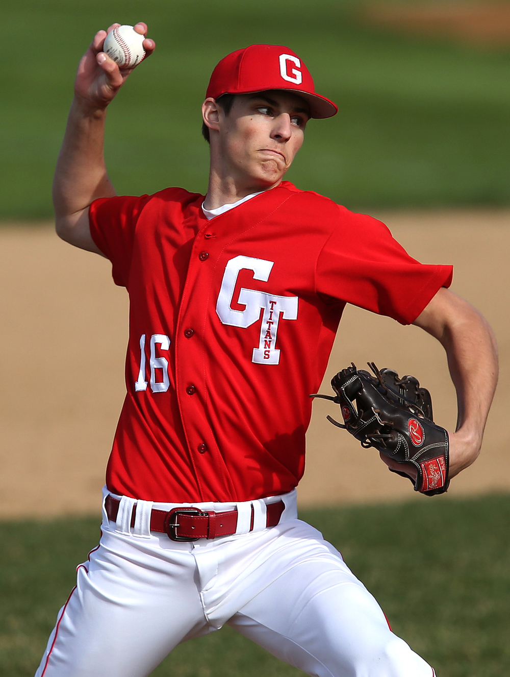 Glenwood pitcher Jacob Maton received the loss on Tuesday. David Spencer/The State Journal Register