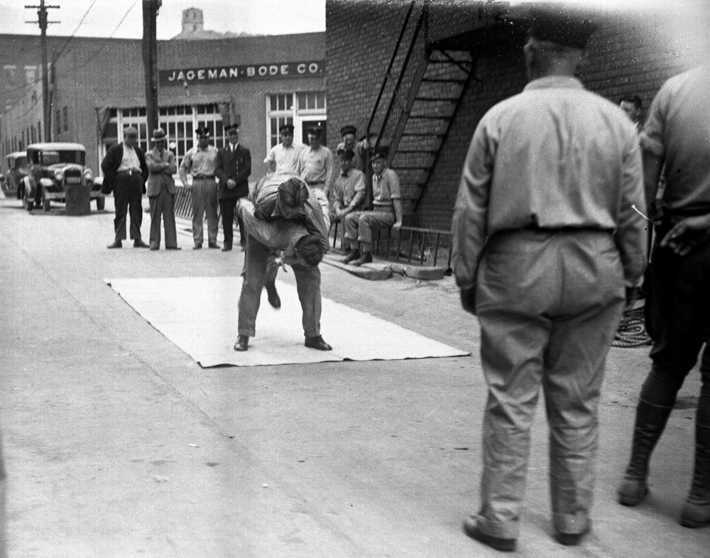 Springfield Fire Department training, April 17, 1931. File/The State Journal-Register