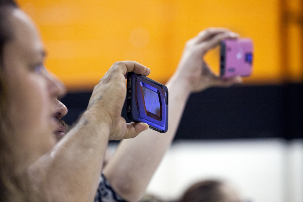 Parents shoot video during a graduation event for the fifth grade at Jane Addams Elementary School Wednesday, June 1, 2016. The school held a ceremony for the class to say goodbye; they will go on to middle school next year. It was the last day of school for Springfield School District 186. Rich Saal/The State Journal-Register