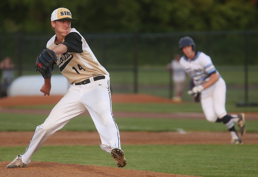 SHG pitcher Jack Staten took the loss Thursday. David Spencer/The State Journal-Register