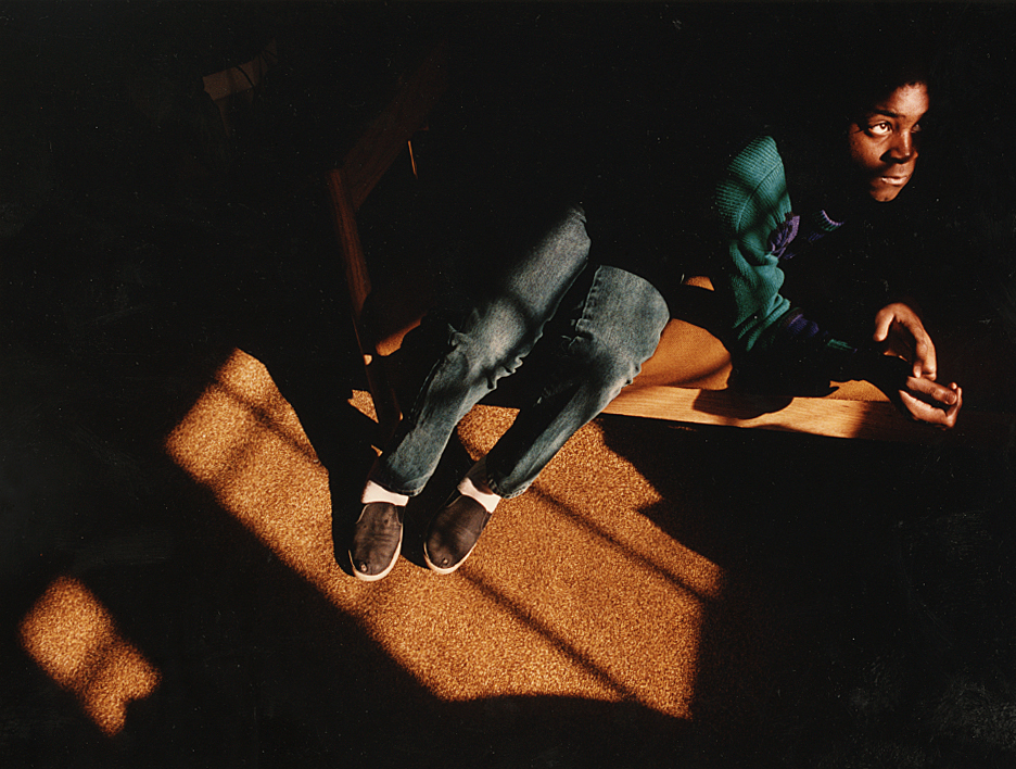 In early 1993, I photographed this blind student catching a bit of sunlight as he rested on a bench at the Illinois School for the Visually Impaired in Jacksonville. He was one of teacher Dan Thompson's students at the school, and Dan (now retired) was a focus of our story because he was a school graduate who had gone on to teach and inspire generations of visually impaired students there. David Spencer/The State Journal-Register