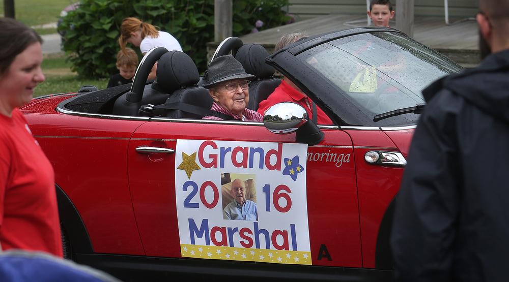 Loami resident Maurice Boston reached Centenarian status this past April 13, and was named the Grand Marshal of the parade on Saturday. David Spencer/The State Journal-Register
