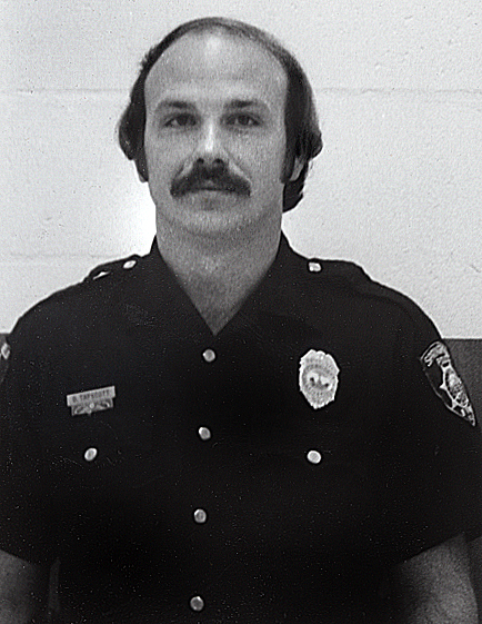 David Tapscott, who had served as a Springfield police officer for five years, died of injuries sustained in an accident on December 26, 1979, two days after colliding with the center support pylon of the railroad overpass on Ninth St. near Converse Ave. in Springfield while responding to a call on Christmas Eve, 1979. file photo/The State Journal-Register