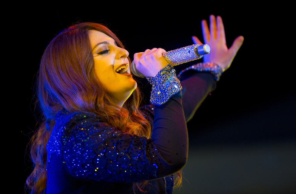Meghan Trainor performs at the Grandstand at the Illinois State Fair Saturday, Aug 13, 2016. Ted Schurter/The State Journal-Register