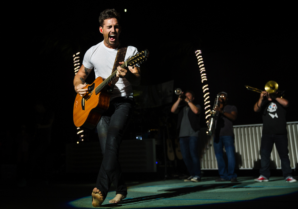 Country star Jake Owen performed at the Illinois State Fair Grandstand Sunday, Aug. 14, 2016. Ted Schurter/The State Journal-Register