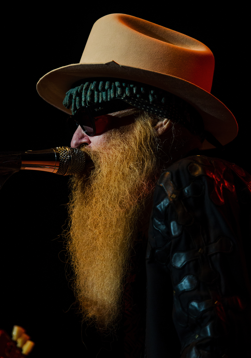ZZ Top's Billy Gibbons performs at the Illinois State Fair Sunday, Aug. 21, 2016. Ted Schurter/The State Journal-Register
