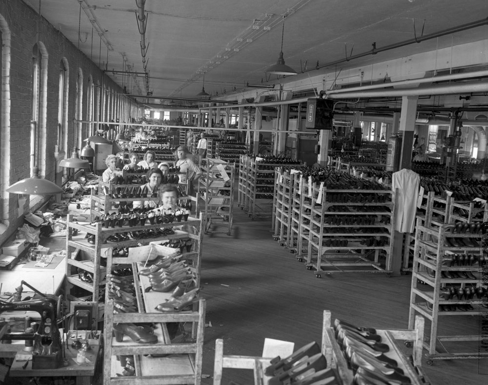International Shoe Factory, September 11, 1945. File/The State Journal-Register