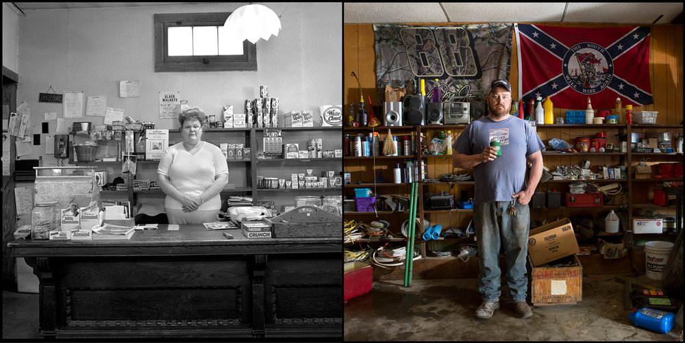 Irma Nunn was owner of the Old Mill Store in Burfordville, Mo. When Nick Stern bought Nunn's house it included the stand-alone store, which he uses as his workshop.