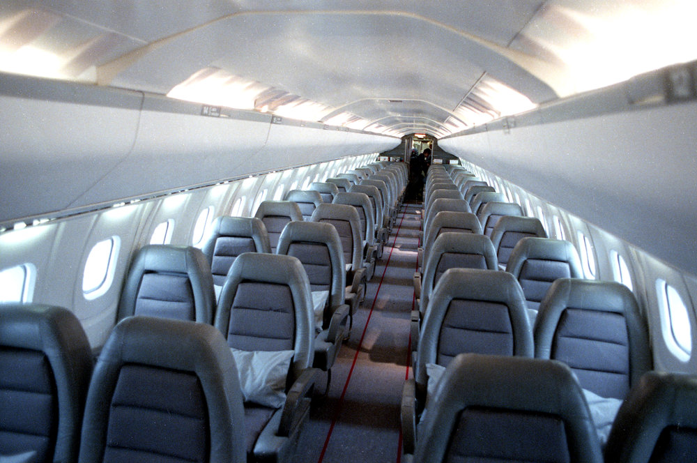 Depending on the configuration, the Concorde could accommodate 92 to 128 passengers. Rich Saal/The State Journal-Register