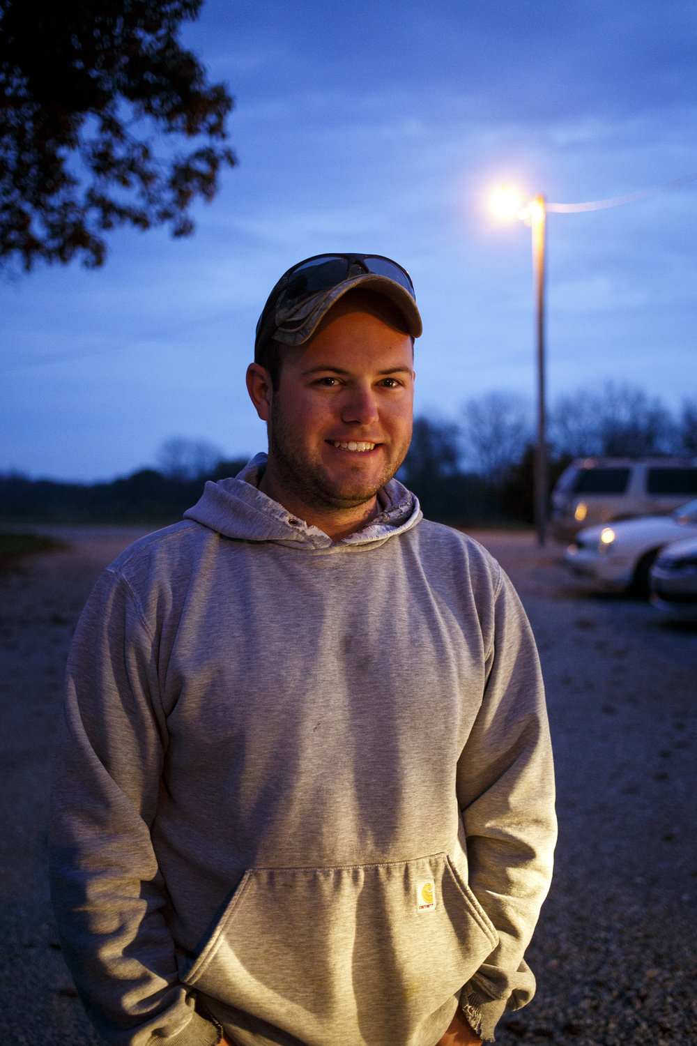 Cody Smith, 6:21 a.m., Buffalo Hart Presbyterian Church