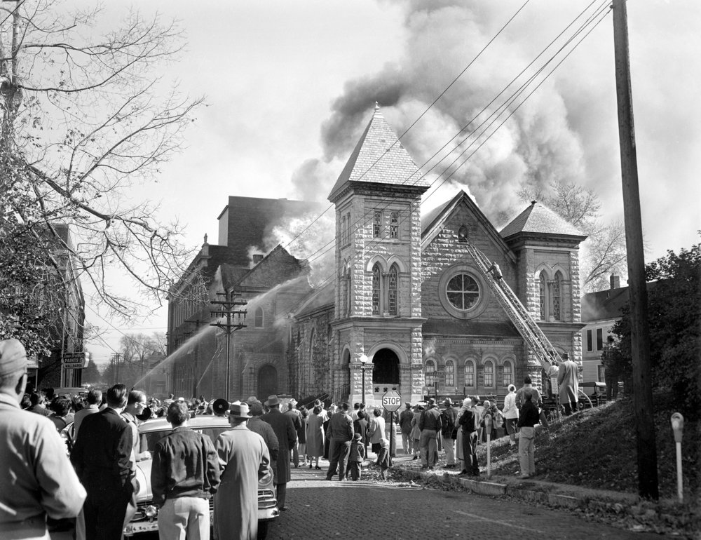 First Congregation Church, Fourth and Edwards, November 12, 1956
