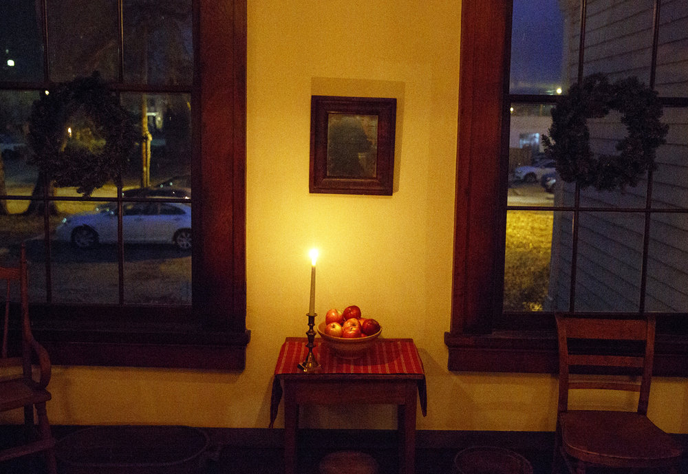 The Elijah Iles House during the annual candlelight tour of the historic home Friday, Dec. 9, 2016. The house is the oldest in Springfield and is decorated in the style of Christmas during different times in the 19th and 20th centuries.  The candlelight tours return Feb. 16 and 17 from 5-8 p.m. Rich Saal/The State Journal-Register