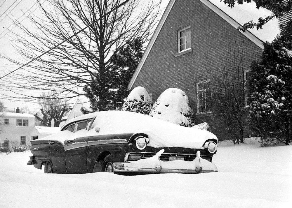 Springfield received 14.4 inches of snow on Feb. 24 and 25, 1965. File/The State Journal-Register