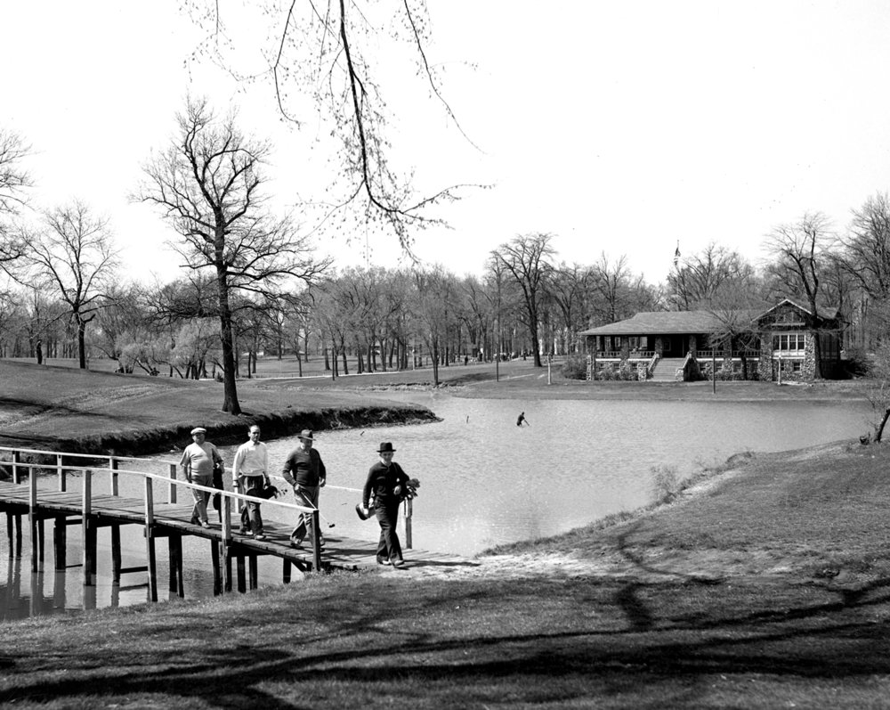 Bunn Park golf course, golfers, April 27, 1940. File/The State Journal-Register