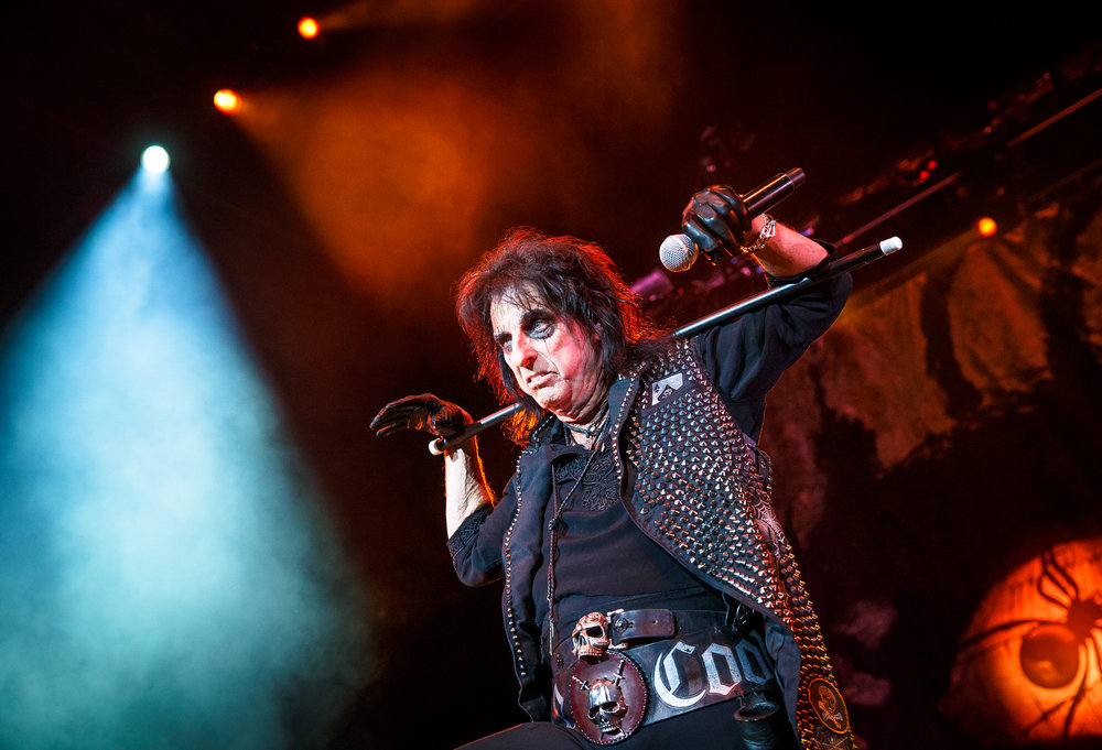 "Alice Cooper performs ""Brutal Planet"" at the Prairie Capital Convention Center, Sunday, April 23, 2017, in Springfield, Ill. [Justin L. Fowler/The State Journal-Register]"