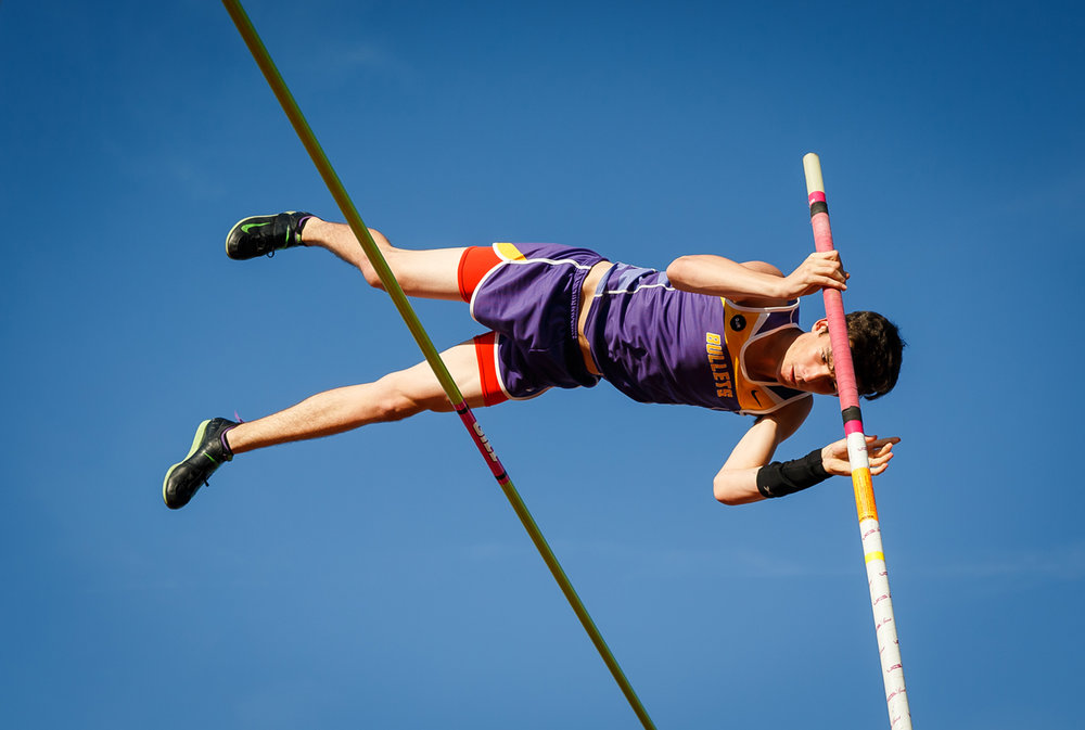 Williamsville's Cameron Witts clears 13-01.00 while competing in the Boys Pole Vault during the Capital Area Classic at Glenwood High School, Monday, May 15, 2017, in Chatham, Ill. Witts won the event clearing 14-01.00. [Justin L. Fowler/The State Journal-Register]