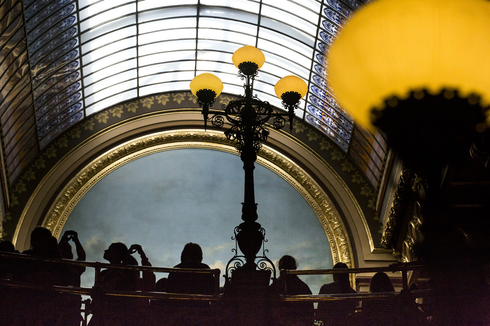 On the last session day at the Capitol, tour groups make their rounds. [Rich Saal/The State Journal-Register]