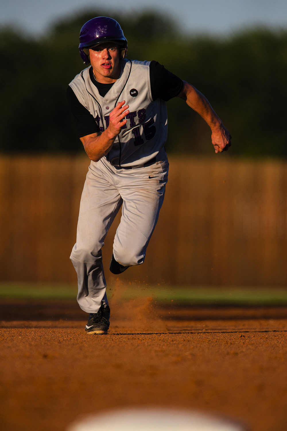 Williamsville's Cody Womack sprints for third base during the Baseball Classic at Claude Kracik Field Tuesday, June 13, 2017.  [Ted Schurter/The State Journal-Register]