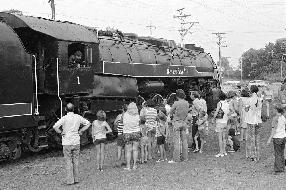 The American Freedom Train stops in Springfield July, 1975. File/The State Journal-Register