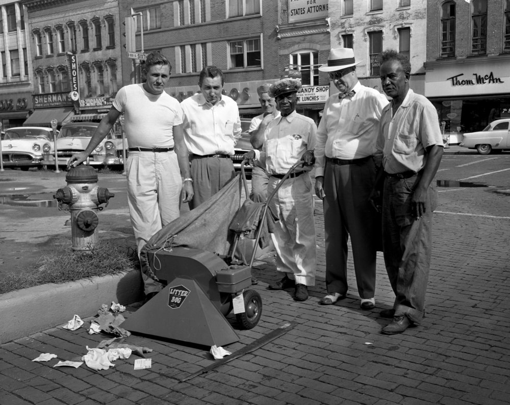 New sidewalk litter vacuum, Litter Bug, Aug. 30, 1956. File/The State Journal-Register