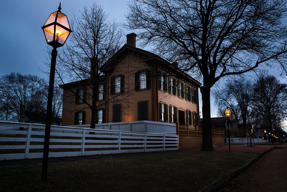 The Lincoln Home National Historic Site was closed Monday, Jan. 22, 2018 due to the federal government shutdown. [Ted Schurter/The State Journal-Register]