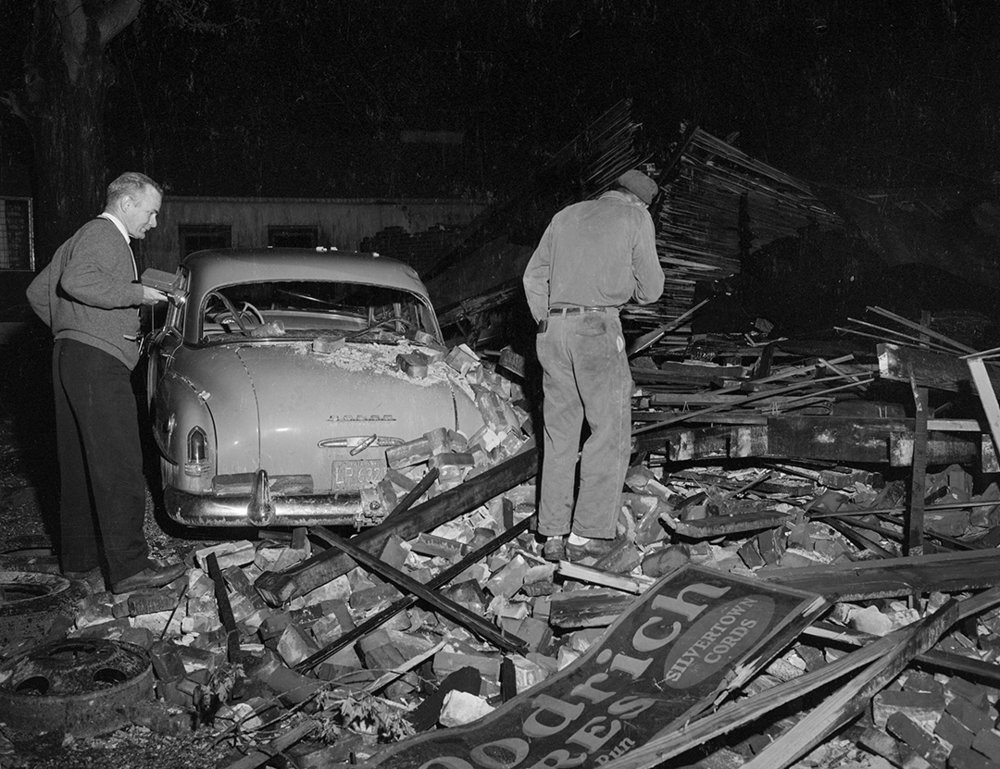 Tornado damage, New Berlin, May 14, 1961. File/The State Journal-Register