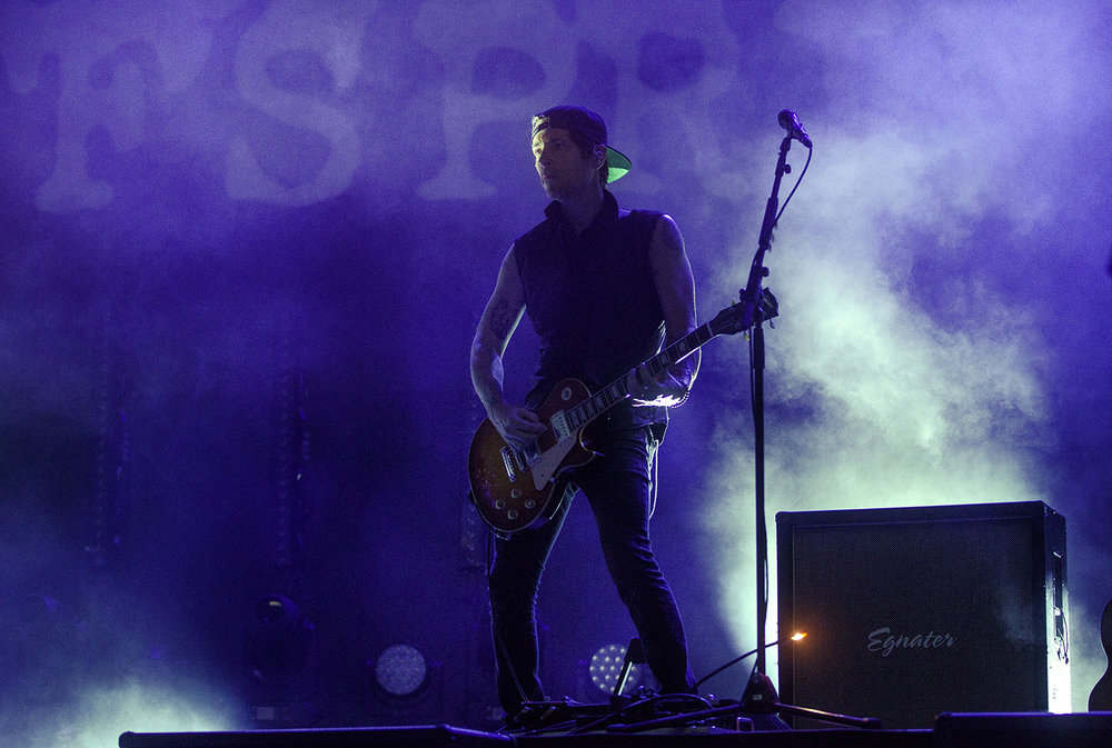 The Offspring perform at the Illinois State Fair Wednesday, Aug. 15, 2018. [Ted Schurter/The State Journal-Register]