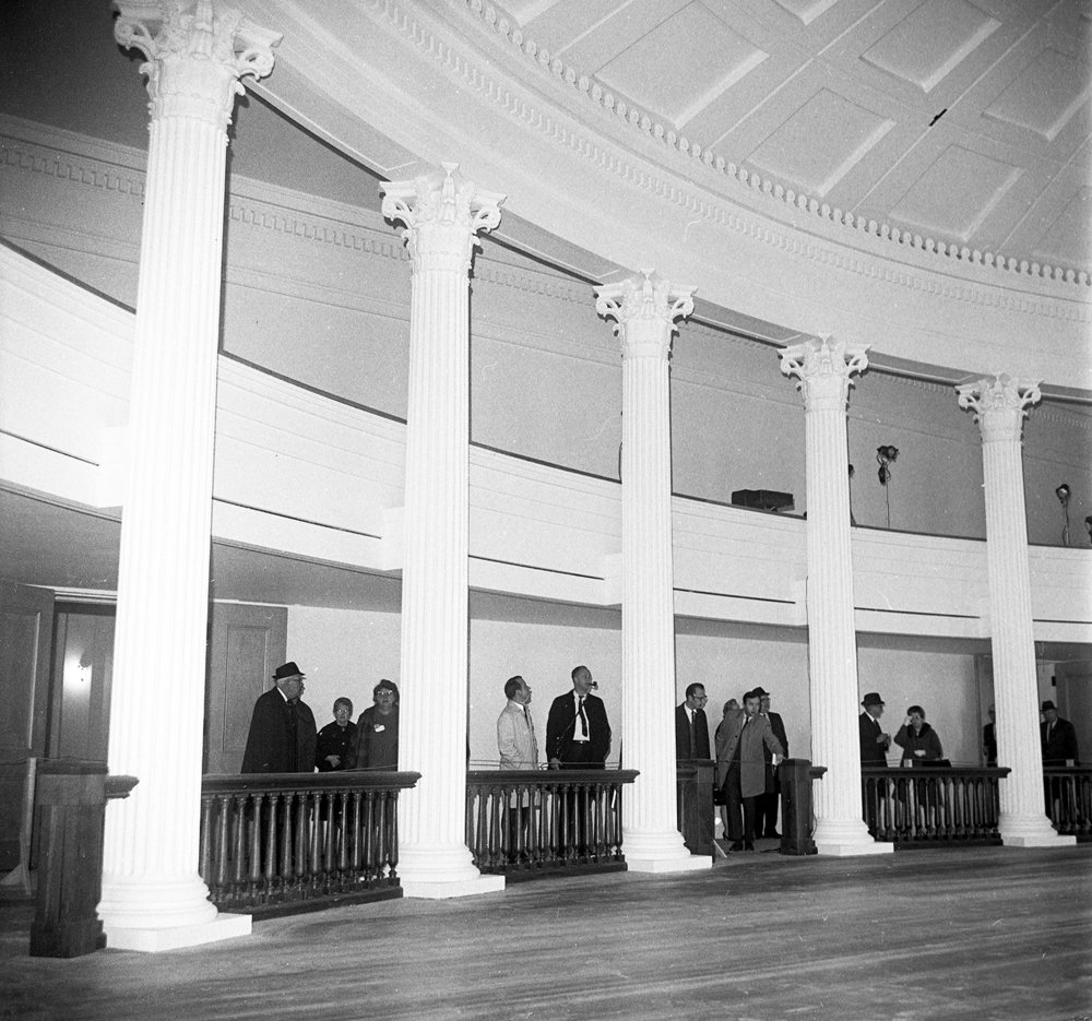 The first public tour of the restored Old State Capitol, Dec. 3, 1968. File/The State Journal-Register