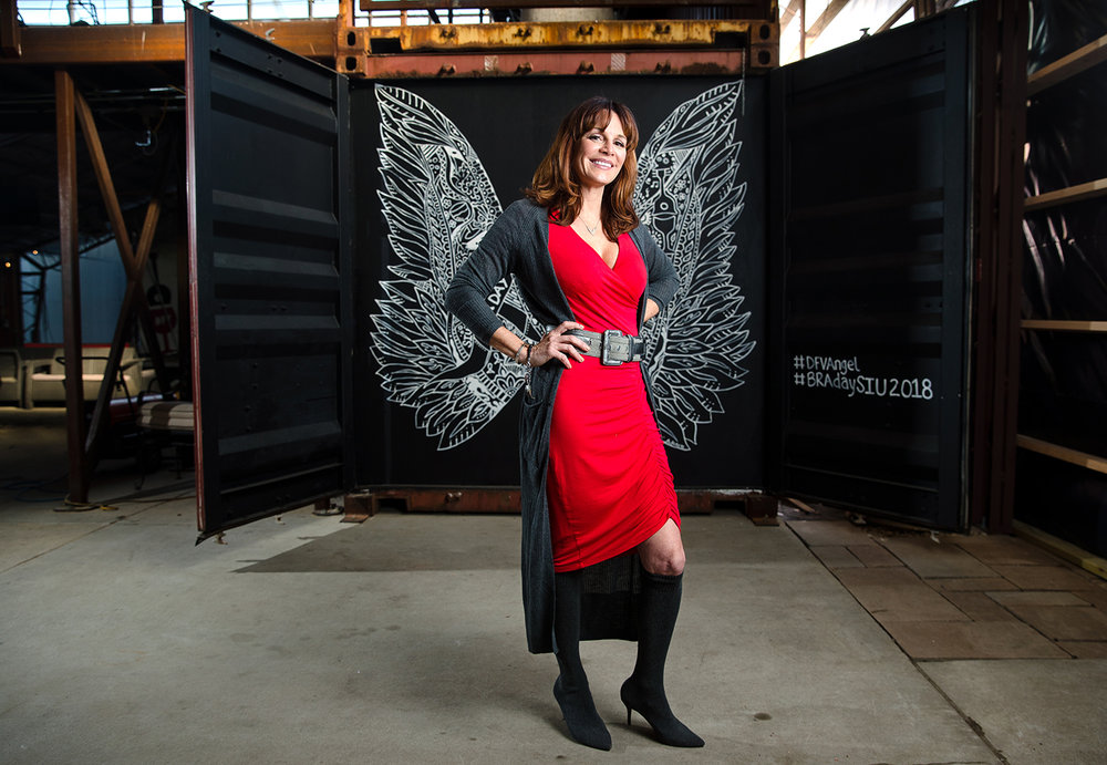 Breast-cancer survivor Susan Danenberger, owner of Danenberger Family Vinyards near New Berlin, is traveling to New York City next week to be a model in an AnaOno fashion show Feb. 10 during New York Fashion Week. AnaOno invites models who are all breast-cancer survivors to participate in its annual show. [Ted Schurter/The State Journal-Register]