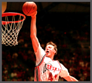 Keith Van Horn Utah Utes Basketball