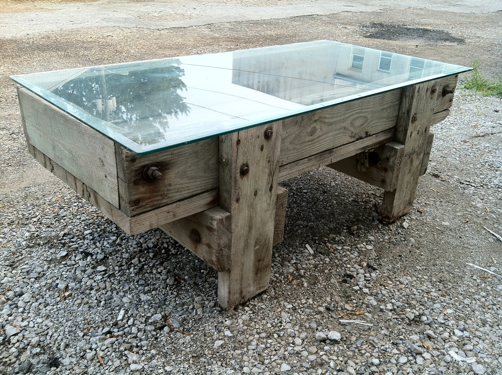Livestock Feed Trough Table
