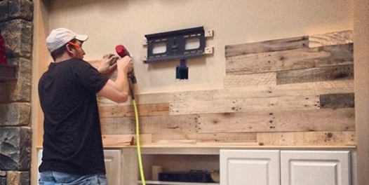 DIY Pallet Wood Wall — Revival Woodworks