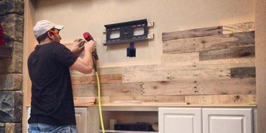 Wood Wall diy pallet wood wall — revival woodworks