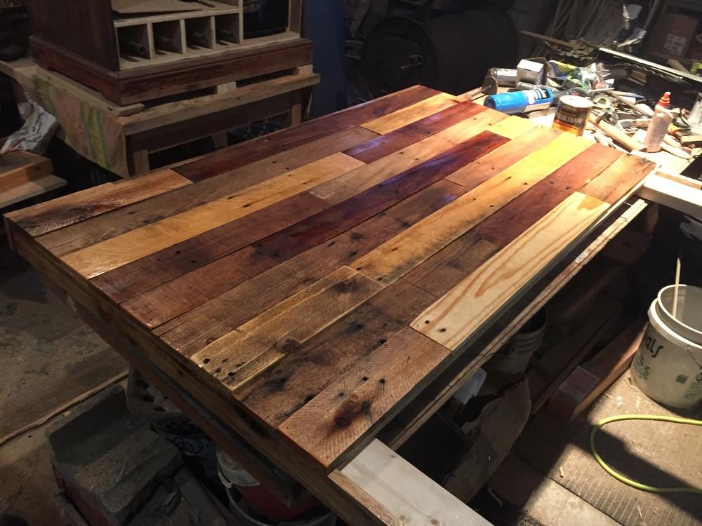Pallet Wood Headboard DIY — Revival Woodworks