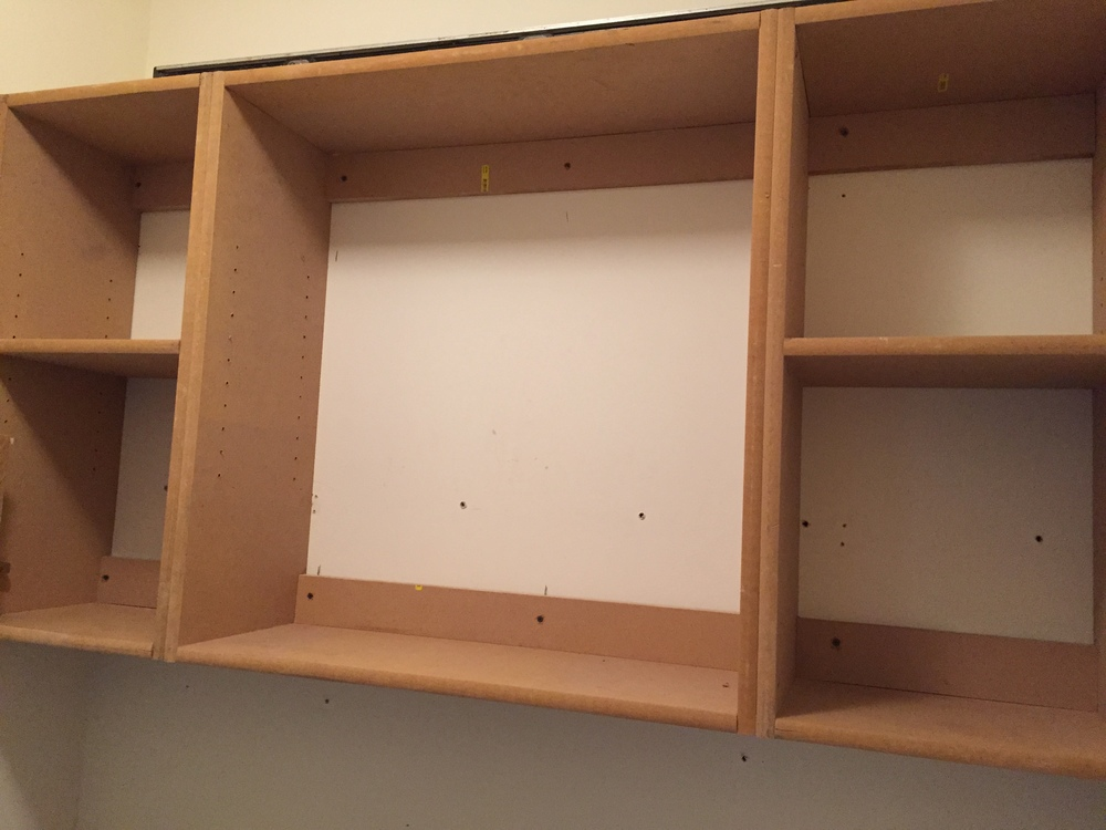 Upper Laundry Cabinet Build