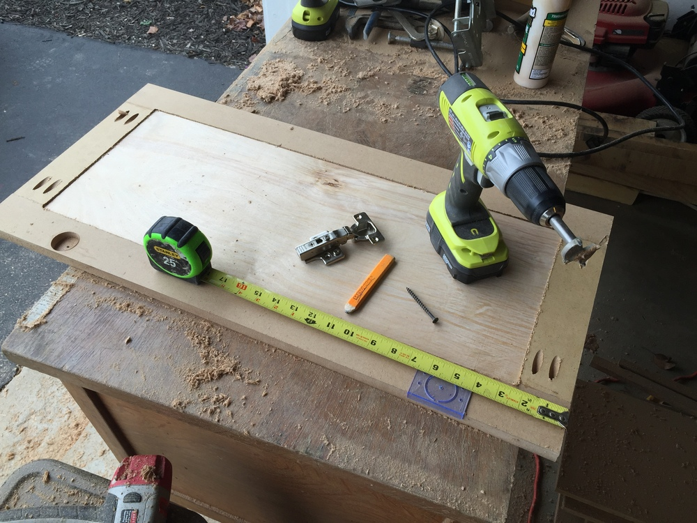 how to make a cabinet door with a kreg jig