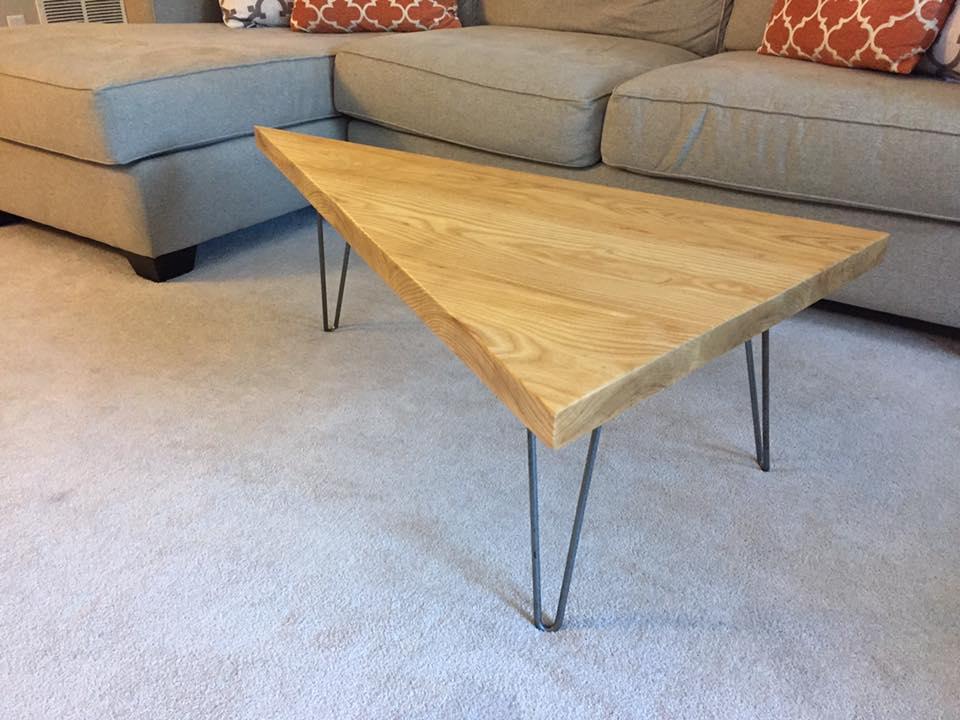 Ash Slab Coffee Table