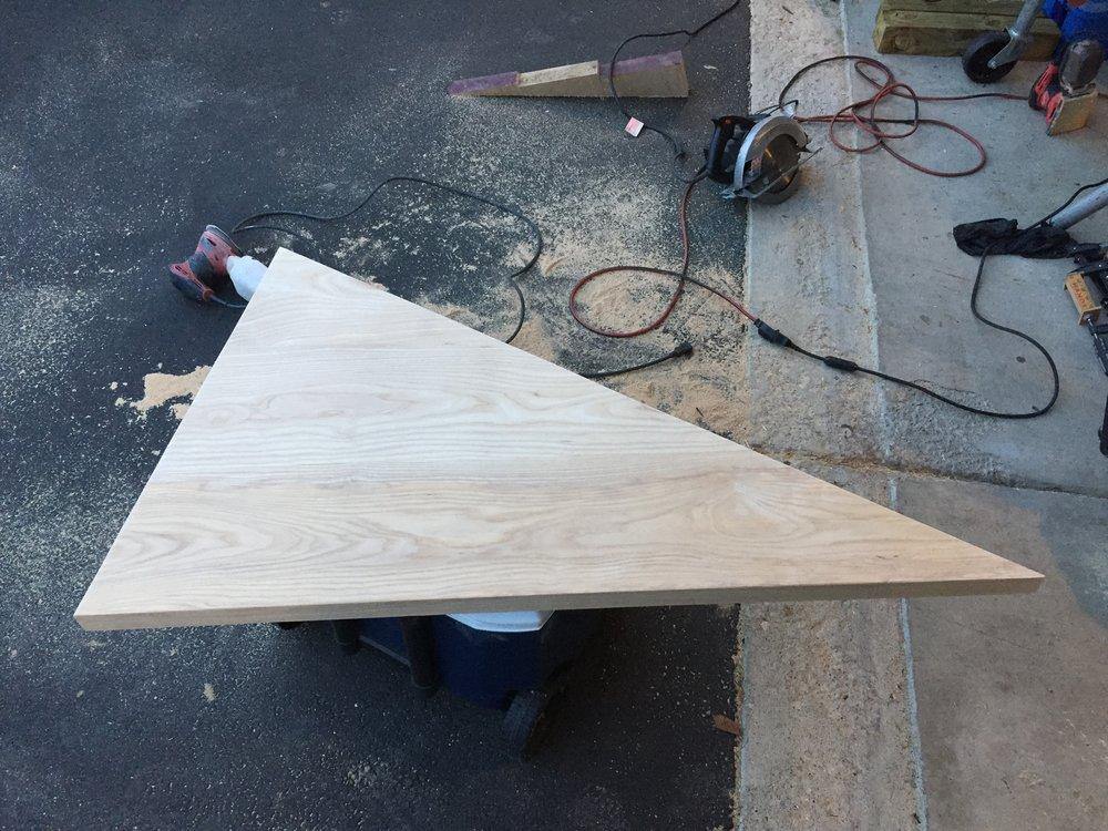 9 - Triangle Coffee Table Top.JPG