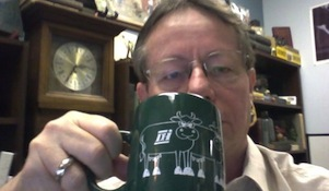 Morning Brew with Dairy Records Management Systems' Ian Rumbles. See items 2 and 1 to put your face here.