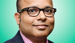 027: Rubrik CEO Bipul Sinha  on raising $10 million (from Microsoft's chairman and others) to disrupt cloud backup. March 24, 2015.  Click photo.