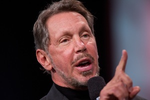Oracle's chairman declares war on Amazon's cloud.