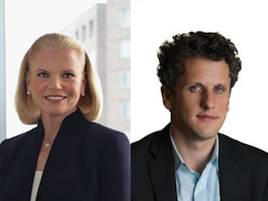 Culture Club: IBM CEO Ginni Rometty and Box CEO Aaron Levie make enterprise music together.