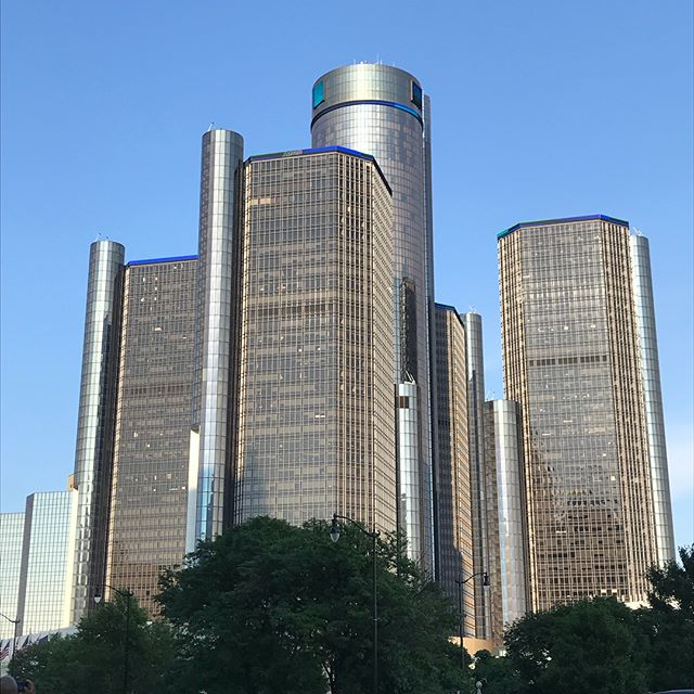 Oh Detroit, how I love you so. #detroit #theD