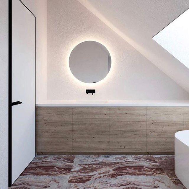 Yes and yes. #Interior #interiordesign #design #love #inspiration #heaven #🛀🏻 #🛁 #shapes #bathtub #relaxation #deco #artdeco #newdeco #marble #balance #bathroom #concretica @iyaturabelidze