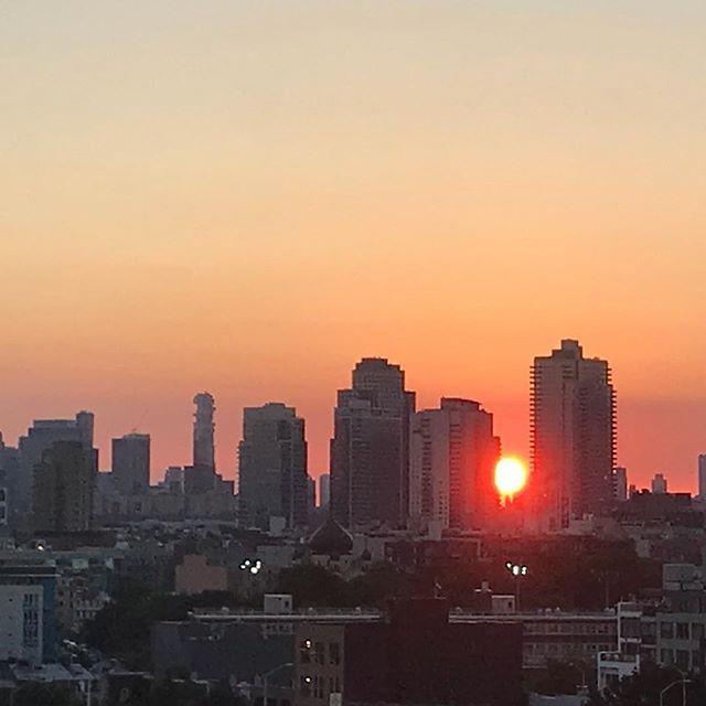 #brooklyn #sunset #nycsunset #nyc