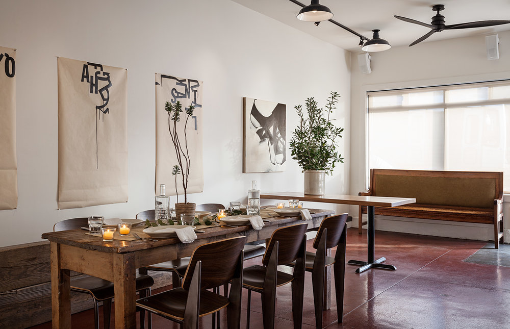 STREAMLINE Cafe | James Avila Interior Placement