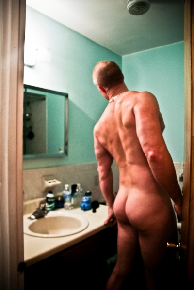 Back , Bare Men by Abigail Ekue Photography, 8 x 12 in