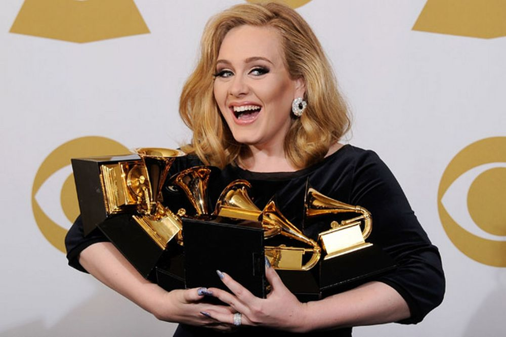 Adele with Grammy Awards.jpg