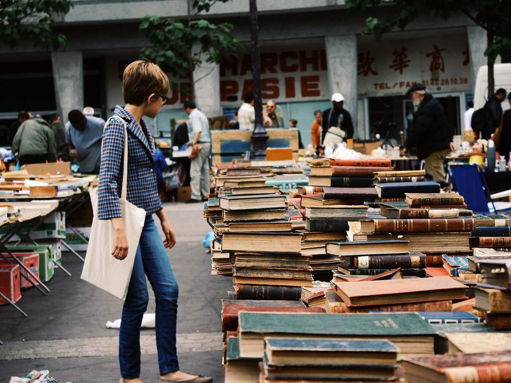 Elena, Paris Flea Market