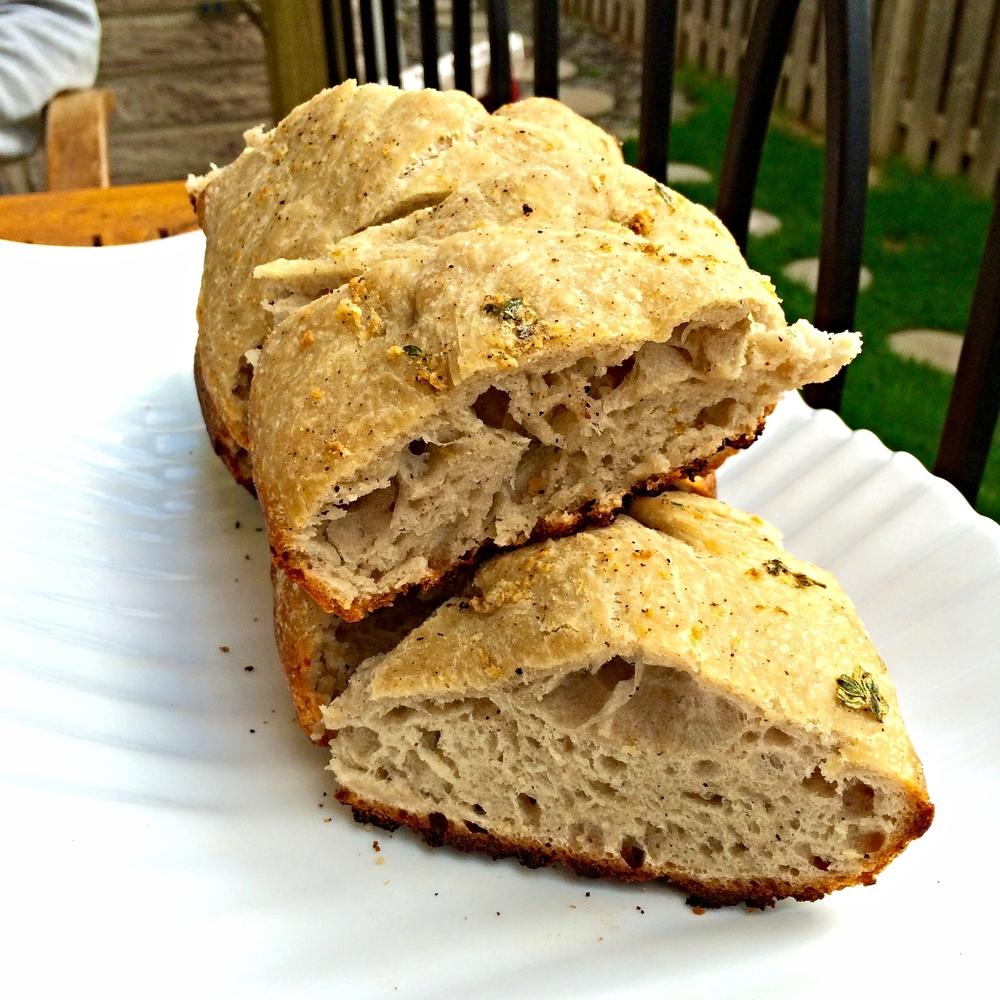 BBQ, Bread, BBQ Bread, Lemon Thyme